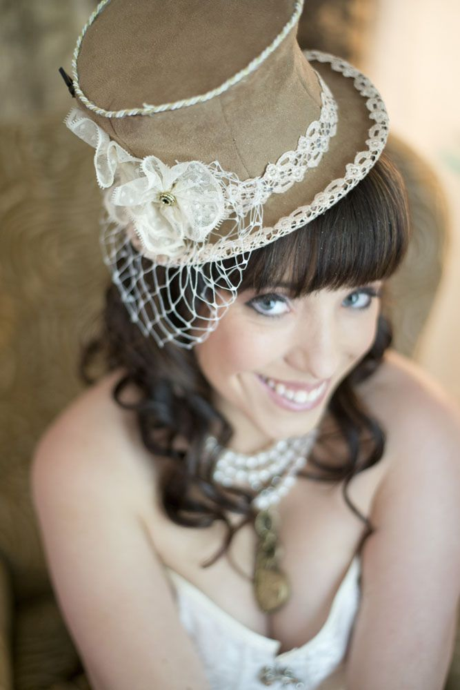 Picture Of diy low cost south african steampunk wedding  6