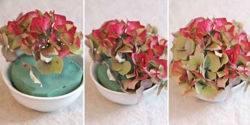Diy Mini Florals For Your Wedding Table Settings