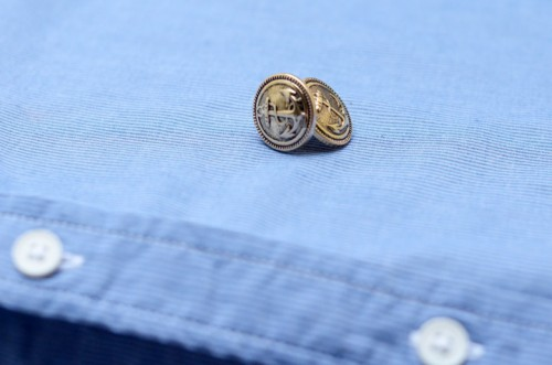 Diy Nautical Cufflinks For A Beach Wedding