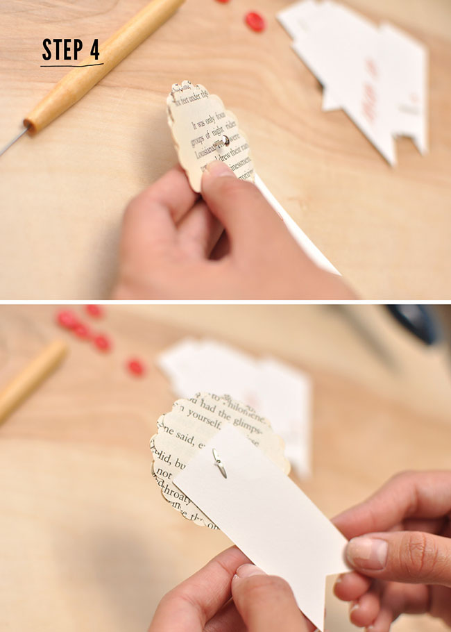 Diy Paper Flower Ribbons For Guest Favors