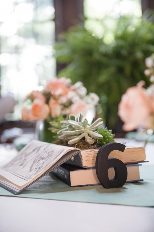 diy pastel book themed wedding   weddingomania