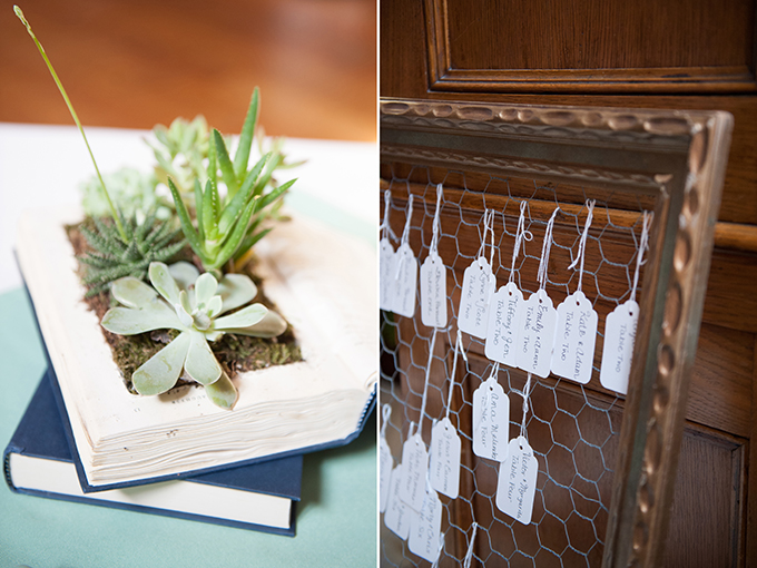 Picture Of Diy Pastel Book Themed Wedding