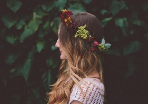 Diy Pretty Floral Wedding Crown