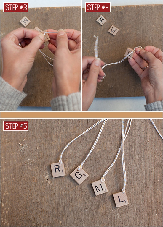 Diy Scrabble Glass Charms