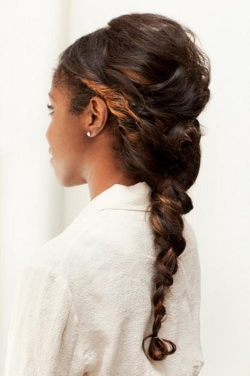 diy prom hairstyles : DIY Super-Twisted Braid Wedding Hairstyle Weddingomania