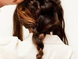 Diy Super Twisted Braid Wedding Hairstyle