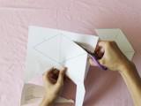 diy-triangle-garland-for-wedding-reception-decor-3