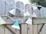 diy-triangle-garland-for-wedding-reception-decor-8