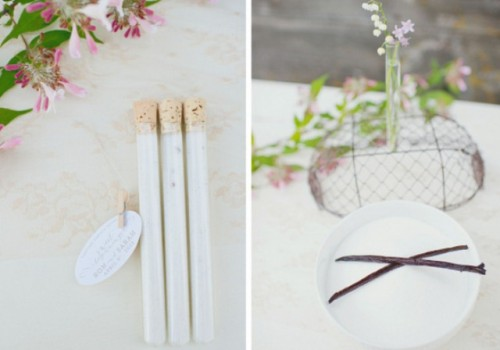 Diy Vanilla Sugar Wedding Favors