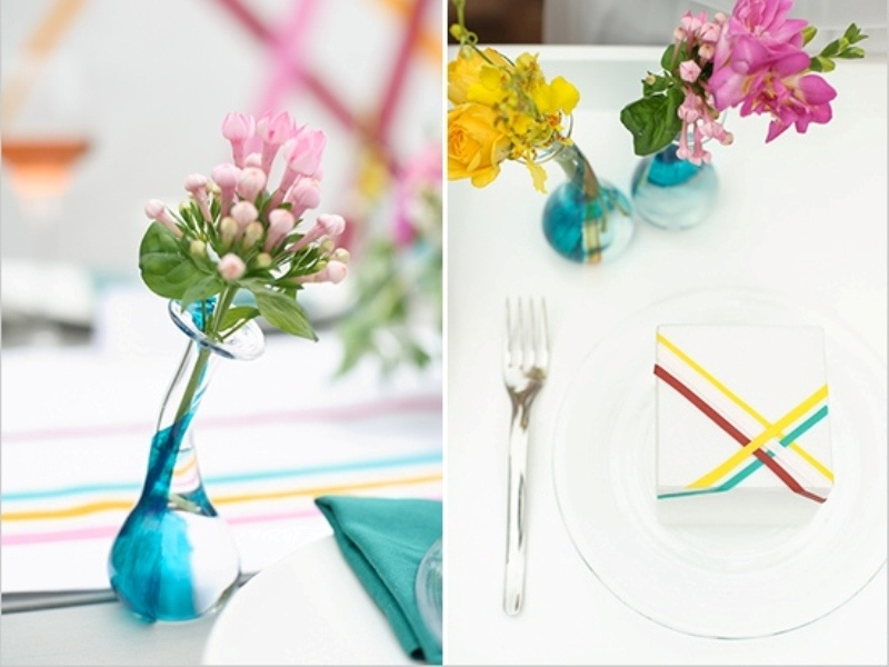 Diy Washi Tape Inspired Wedding Decor