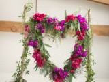 heart floral backdrop