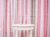 ribbon wedding backdrop