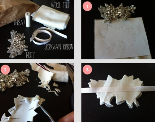 Diy Wedding Bracelet Of A Swarovski Motif