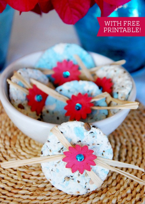 DIY Wildflower Seed Paper As Guest Favors