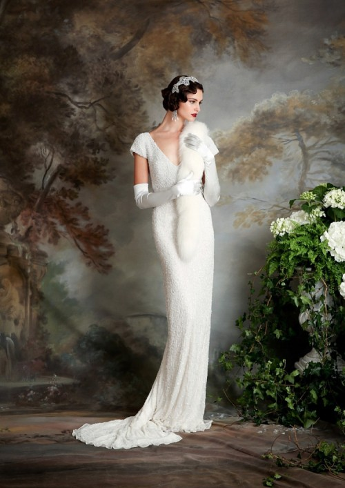 Downton Abbey Inspired Wedding Dresses By Eliza Jane Howell