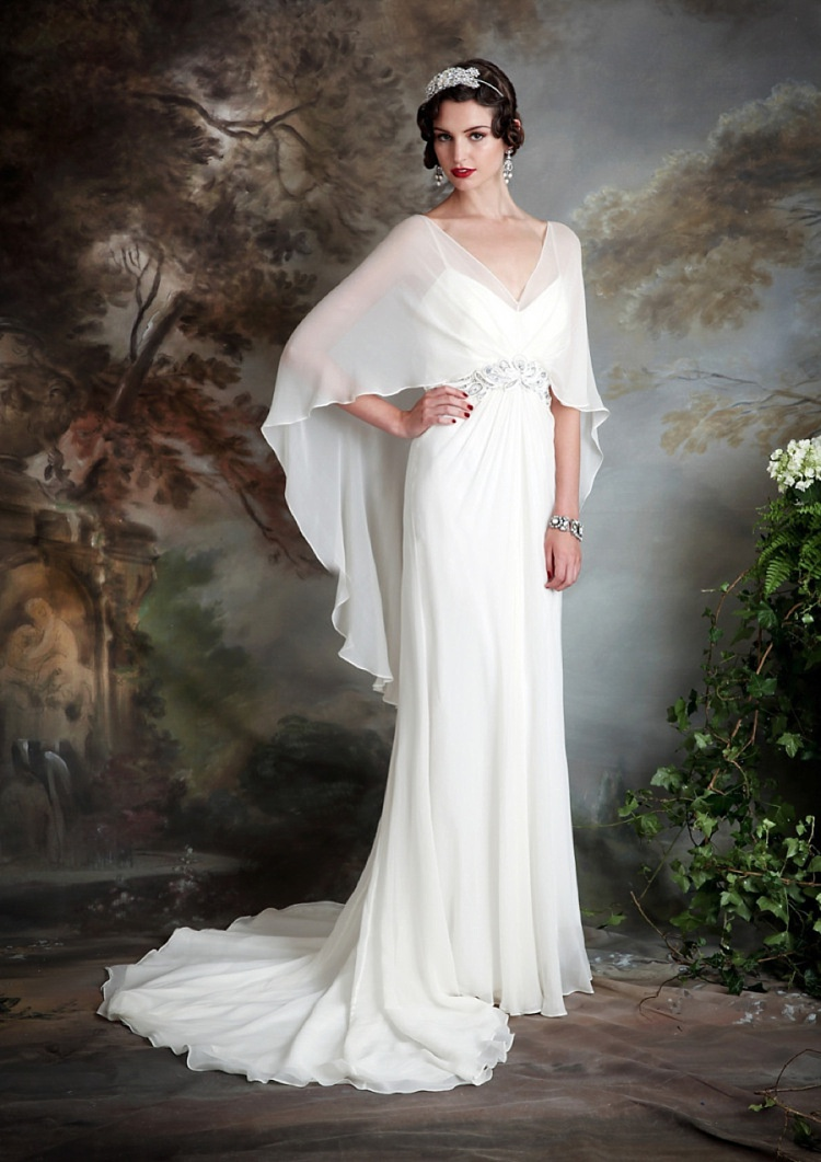Picture Of Downton Abbey Inspired Wedding Gowns By Eliza Jane Howell 9