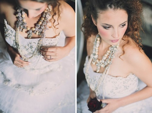 Dramatic Alexander Mcqueen Inspired Wedding Shoot