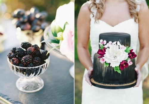 Dramatic And Elegant Black And Gold Wedding Decor Inspiration