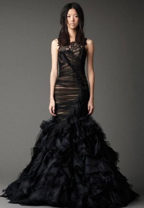 Dramatic And Elegant Soft Gothic Wedding Inspiration
