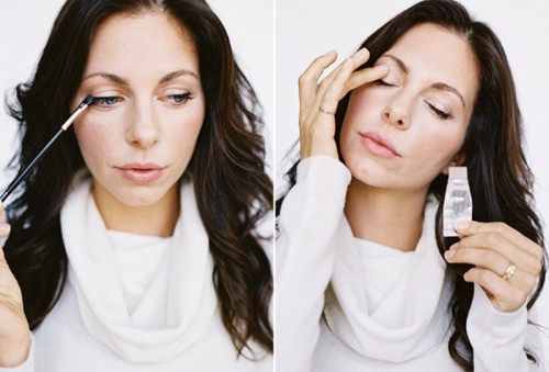 Dramatic And Sexy Diy Smokey Eye Makeup For Winter Brides
