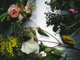 Dramatic Floral Headpieces By Tinge Floral Design