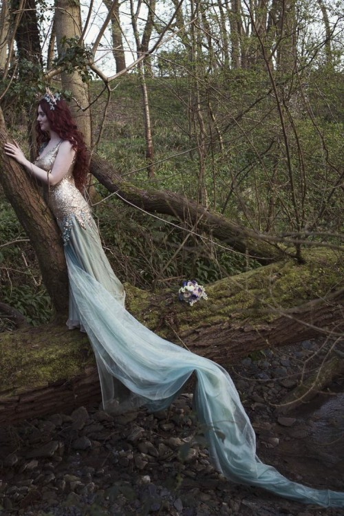 Dramatic Rusalka Styled Wedding Shoot