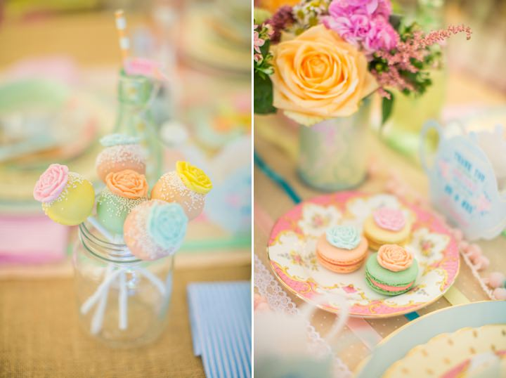 Picture Of dreamy and cute pastel glamping wedding shoot  10