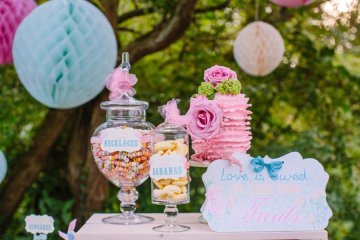 Picture Of dreamy and cute pastel glamping wedding shoot  3