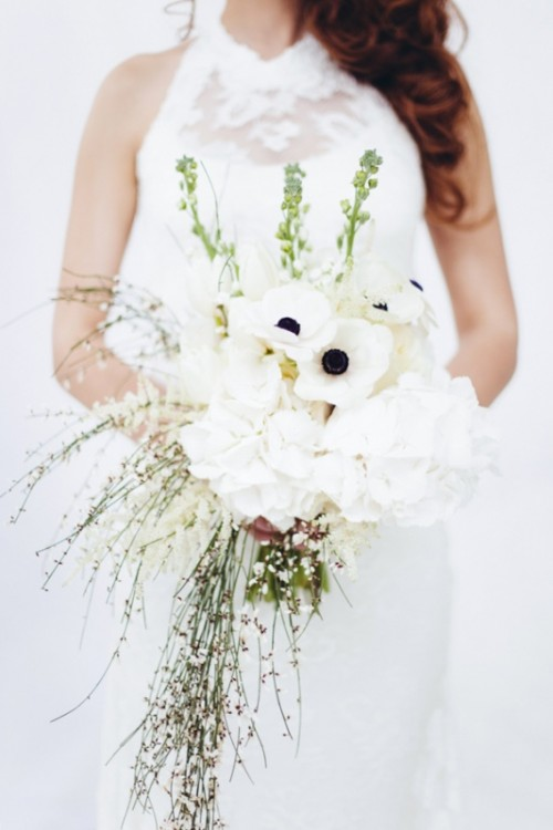Dreamy And Elegant All White Wedding Inspiration