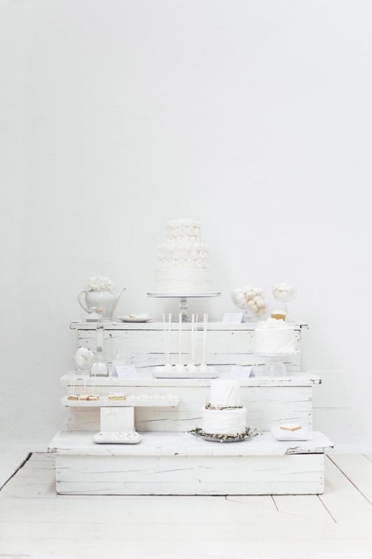 Dreamy And Elegant All White Wedding Inspiration