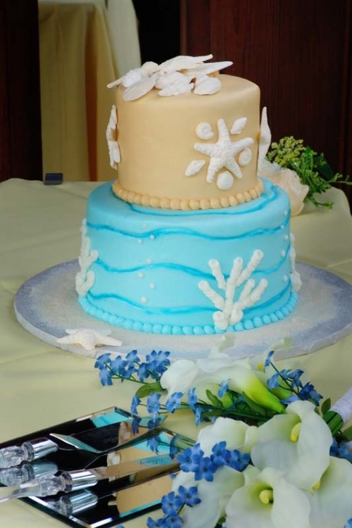 Blue Wedding Cakes