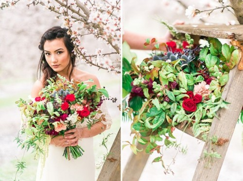 Dreamy Bohemian Wedding Inspiration At Almond Orchard