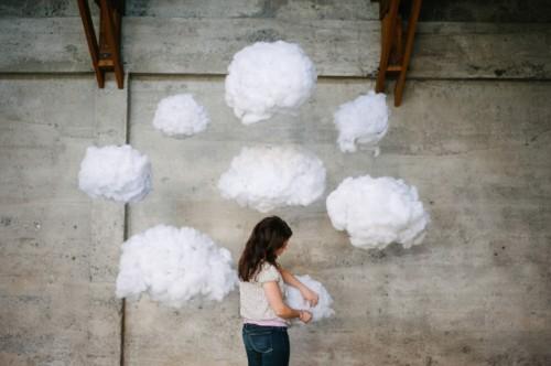 Dreamy Diy Cloud Wedding Backdrop