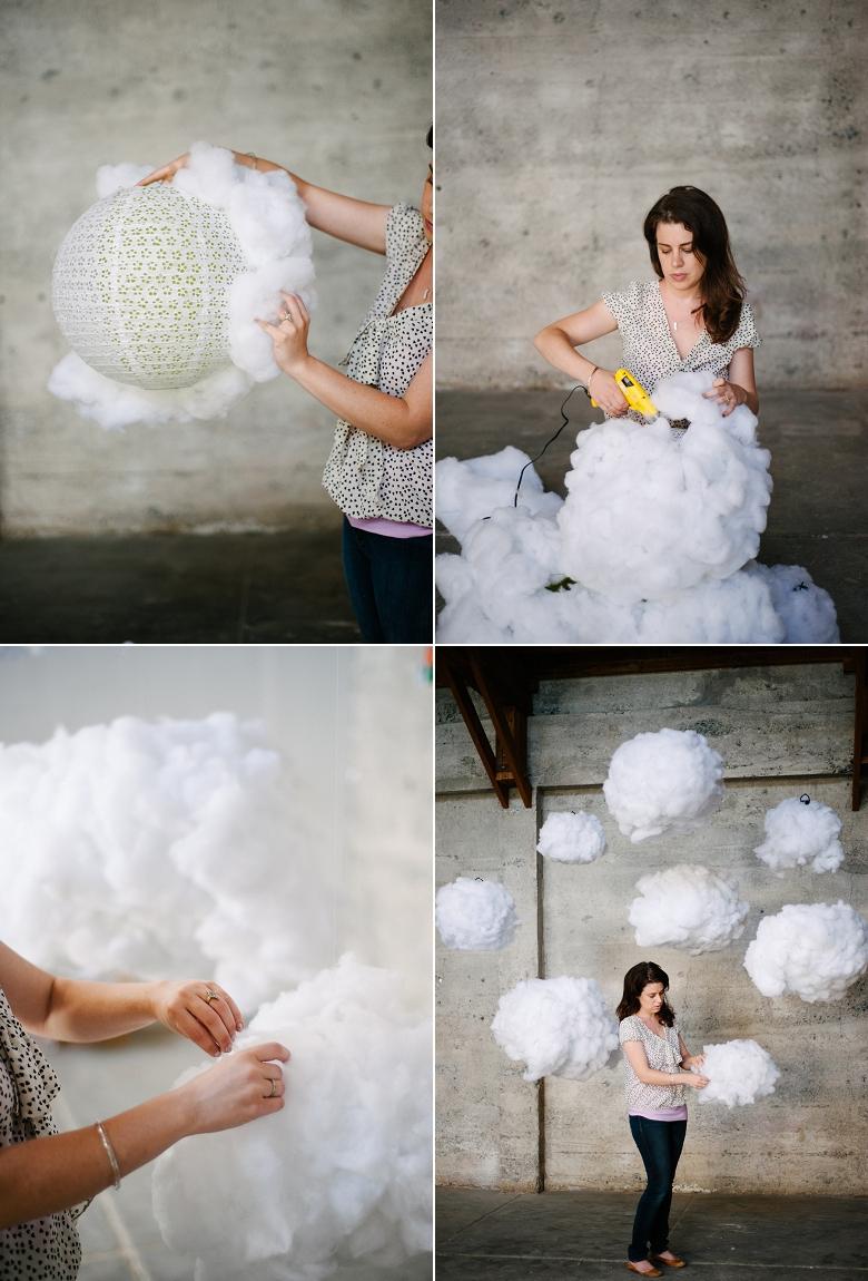 Picture Of Dreamy Diy Cloud Wedding Backdrop