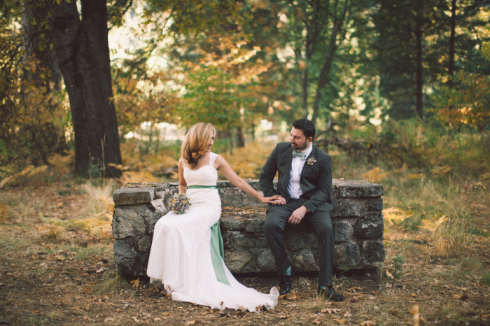 Picture Of dreamy yosemite elopement with fresh green touches  14