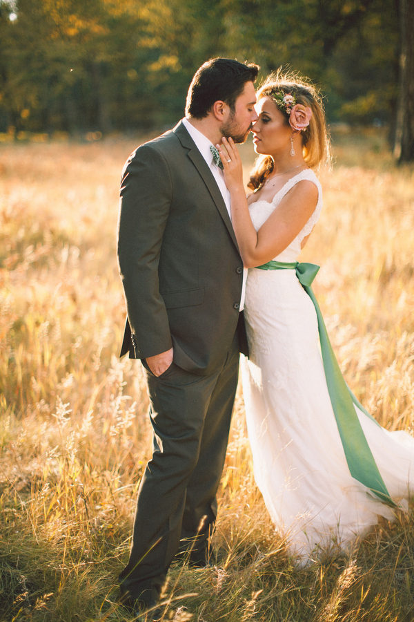 Picture Of dreamy yosemite elopement with fresh green touches  15