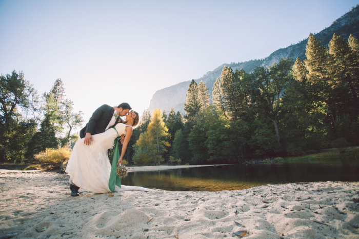 Picture Of dreamy yosemite elopement with fresh green touches  16