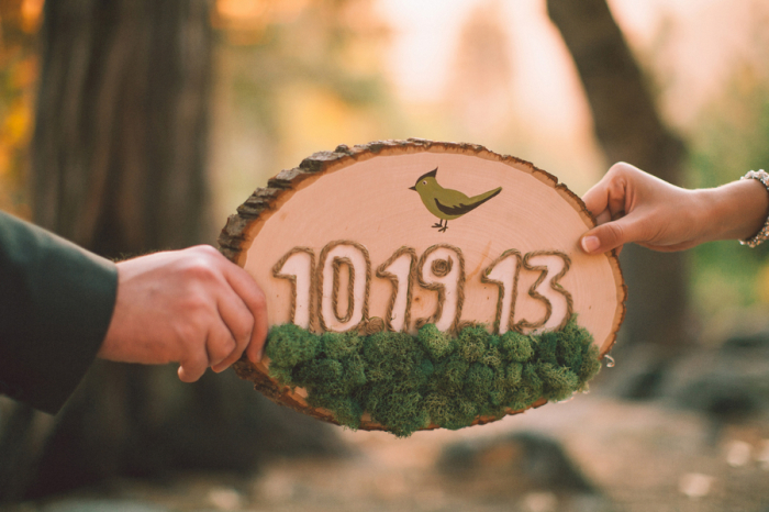 Picture Of dreamy yosemite elopement with fresh green touches  4