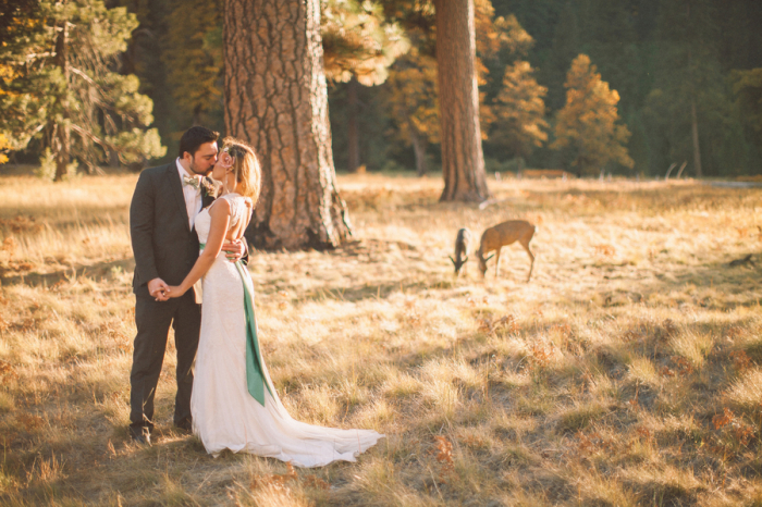 Picture Of dreamy yosemite elopement with fresh green touches  5
