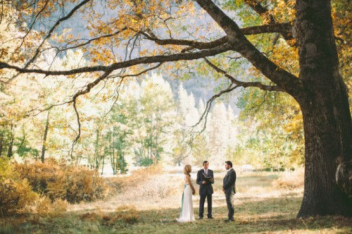 Dreamy Yosemite Elopement With Fresh Green Touches