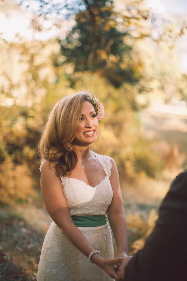 Picture Of dreamy yosemite elopement with fresh green touches  9