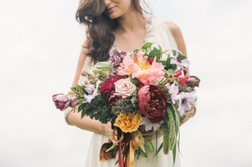 Earthy And Elegant Fall Wedding Inspiration