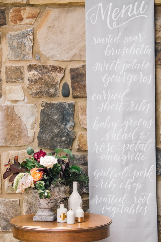 Picture Of earthy and elegant wedding inspiration  12