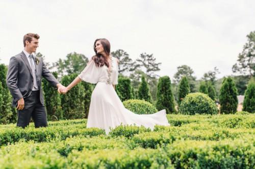Earthy And Elegant Fall Wedding Inspiration