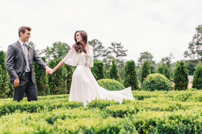 Picture Of earthy and elegant wedding inspiration  15