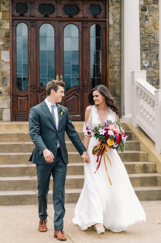 Picture Of earthy and elegant wedding inspiration  7