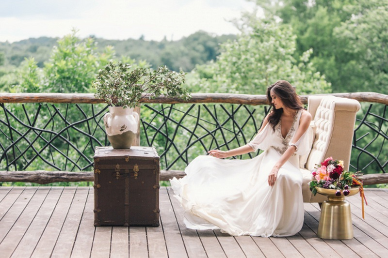 Picture Of earthy and elegant wedding inspiration  8
