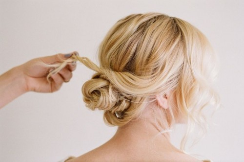 Easy And Beautiful Diy Low Bun Hairstyle