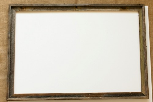 Easy And Cute Diy Watercolor Framed Escort Card Display
