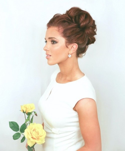 Easy And Romantic Bridesmaids' Hairstyles Ideas